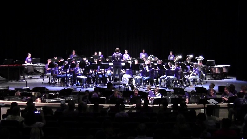 "College Station HS Concert Band - ""Tears of the Arizona"" 05/21/2018"