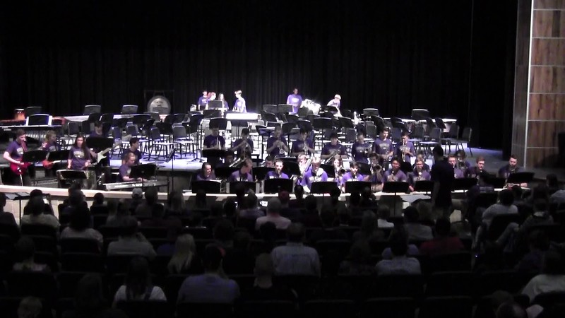 "College Station HS Jazz Band - ""The Incredibles"" 05/21/2018"