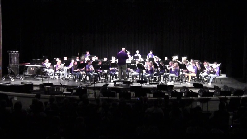 "College Station HS Wind Ensemble - ""The Stars and Stripes Forever"" 05/21/2018"