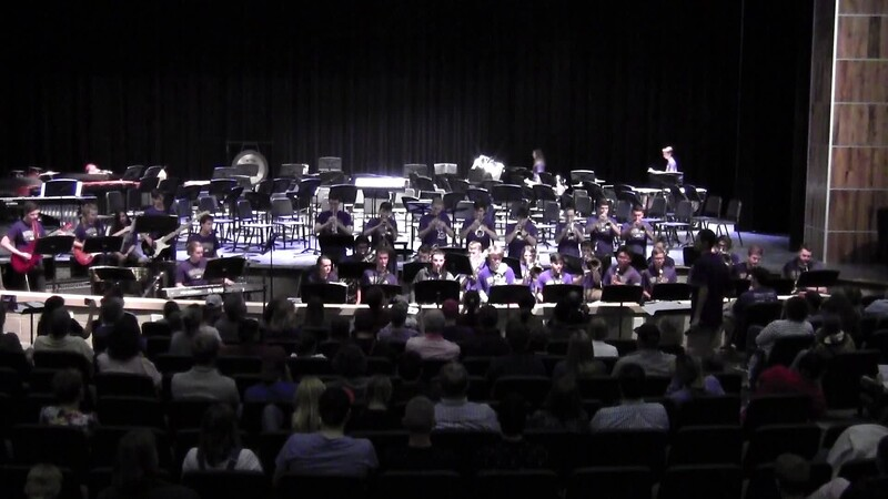 "College Station HS Jazz Band - ""Sing, Sing, Sing"" 05/21/2018"