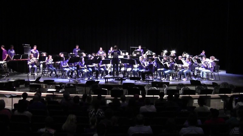"College Station HS Symphonic Band - ""Guardians of the Galaxy"" 05/21/2018"