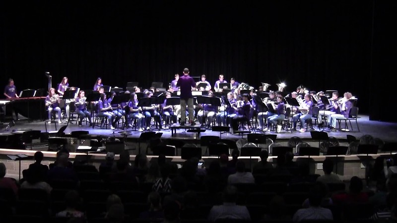 "College Station HS Symphonic Band - ""I Am the Doctor"" 05/21/2018"
