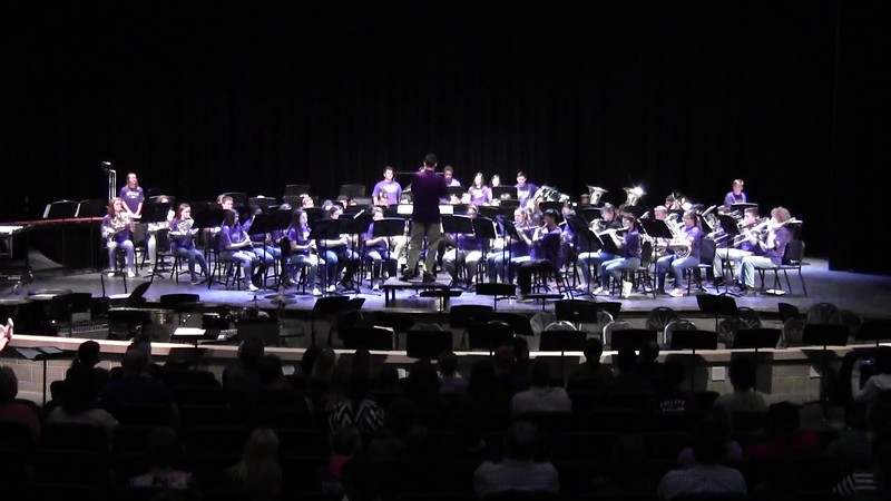 "College Station HS Symphonic Band - ""How to Train Your Dragon"" 05/21/2018"