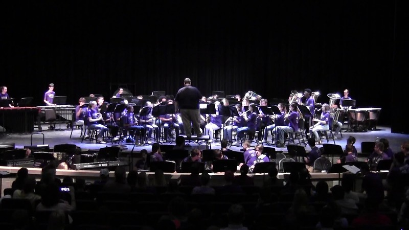 "College Station HS Concert Band - ""Highlights from La La Land"" 05/21/2018"