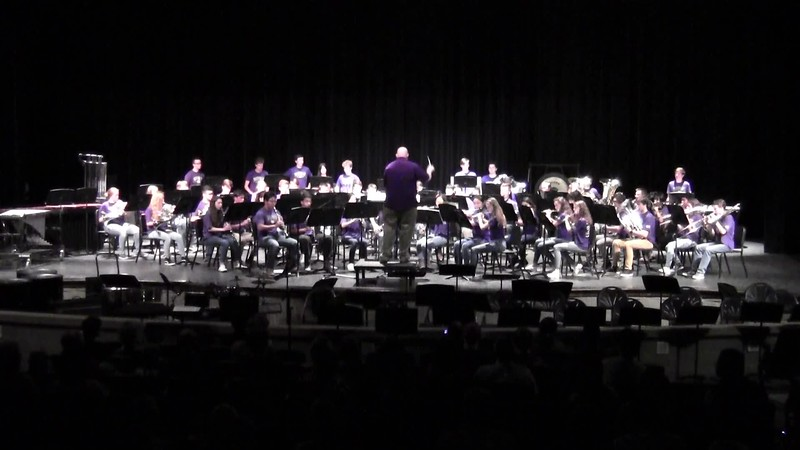 "College Station HS Wind Ensemble - ""The Great Race"" 05/21/2018"