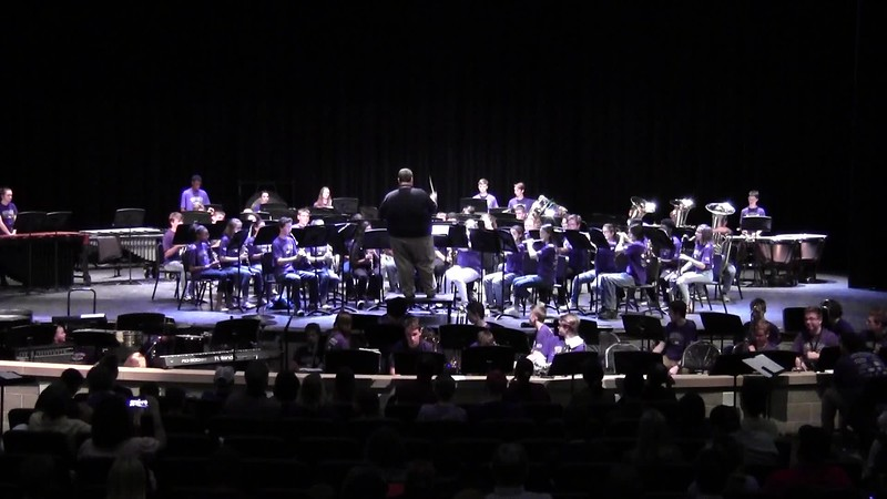 "College Station HS Concert Band - ""Remember Me"" 05/21/2018"