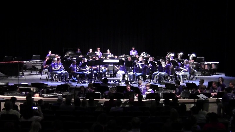 "College Station HS Concert Band - ""Chips and Salsa"" 05/21/2018"