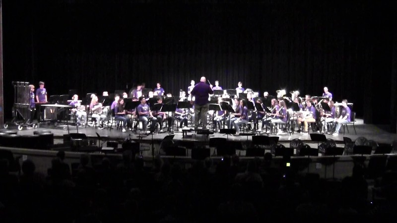 "College Station HS Wind Ensemble - ""The Inferno"" 05/21/2018"