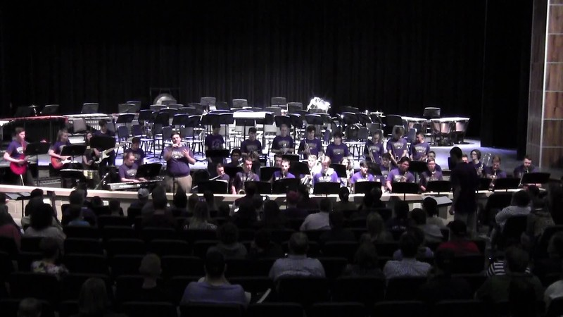 "College Station HS Jazz Band - ""Cry Me a River"" 05/21/2018"