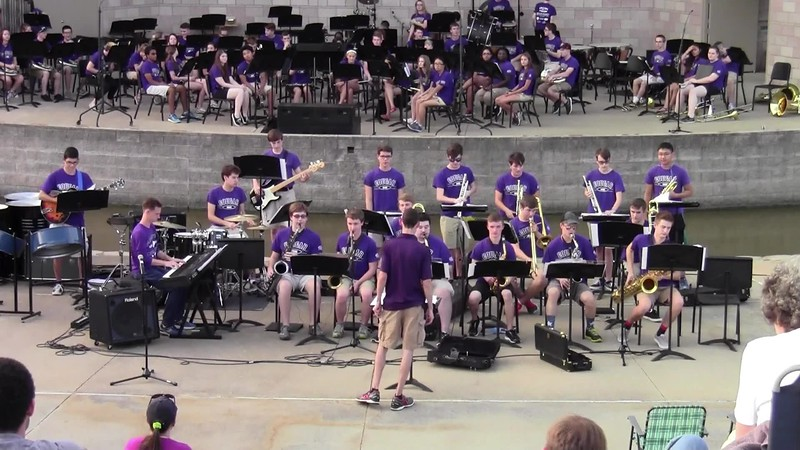 "College Station HS Jazz Band - ""Coconut Champagne"""