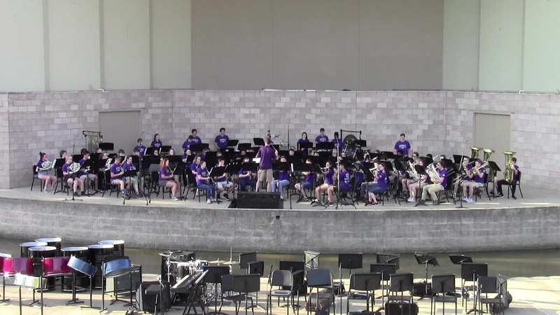 "College Station HS Concert Band - ""Foundry"""