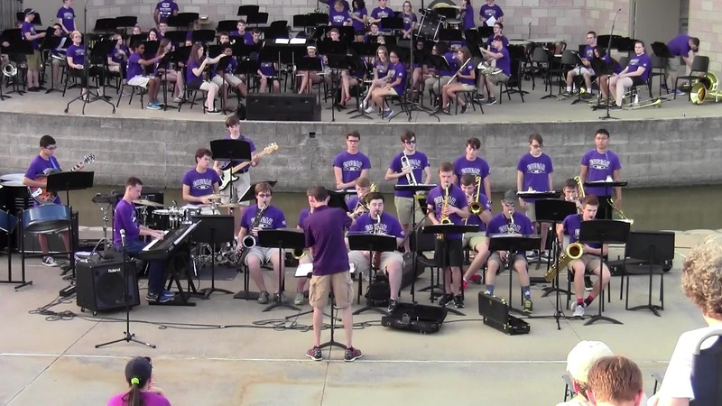 "College Station HS Jazz Band - ""Feeling Good"""