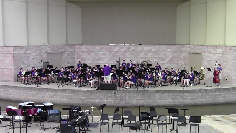 "College Station HS Symphonic Band - ""Deep in the Heart of Texas"""