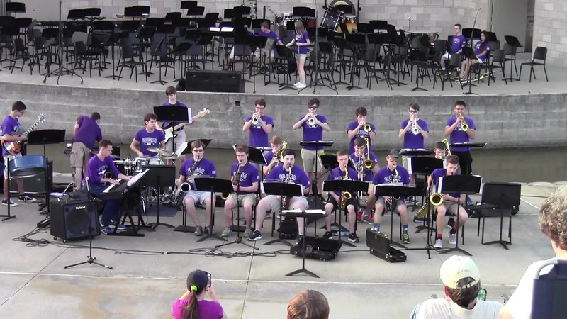 "College Station HS Jazz Band - ""Cold Duck Time"""