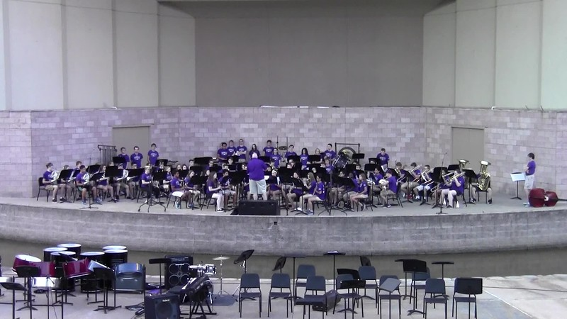 "College Station HS Symphonic Band - ""Silverado"""