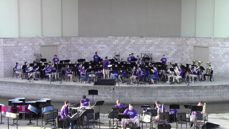 "College Station HS Concert Band - ""Star Trek Into Darkness"""