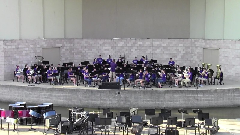 "College Station HS Concert Band - ""From Gold"""