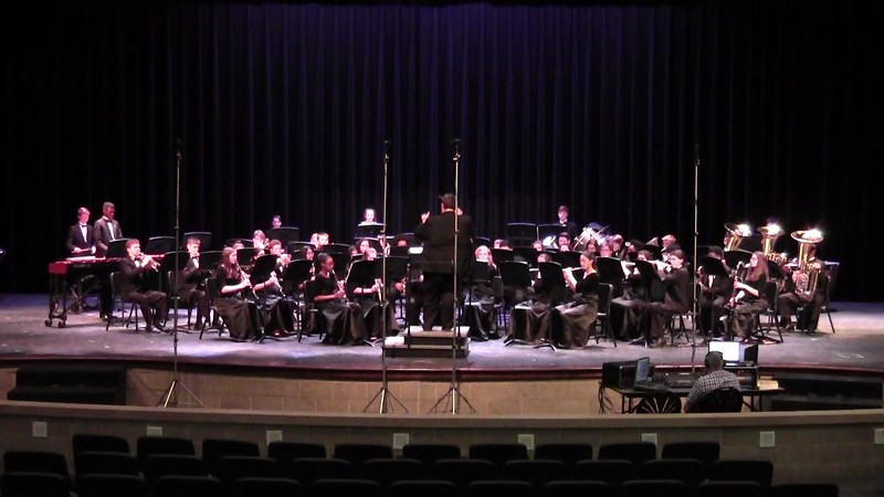 "College Station HS Concert Band UIL - ""As Twilight Falls"""