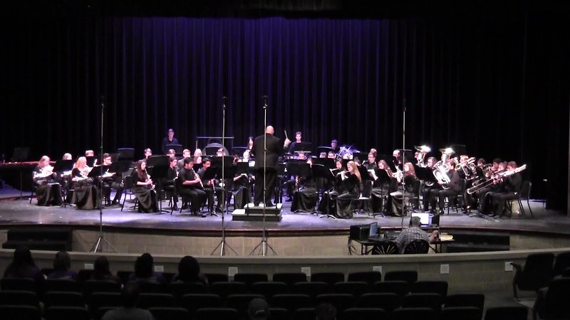 "College Station HS Wind Ensemble UIL - ""Manhattan Beach March"""