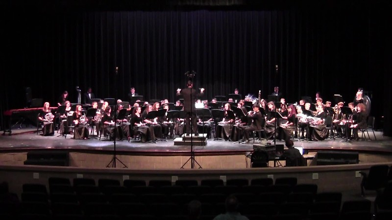 "College Station HS Symphonic Band UIL - ""Fantasy on a Japanese Folk Song"""
