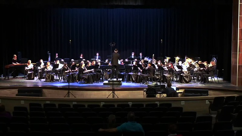 "College Station HS Symphonic Band UIL - ""La Madre de los Gatos"""