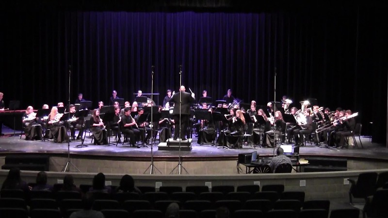 "College Station HS Wind Ensemble UIL - ""Ride"""