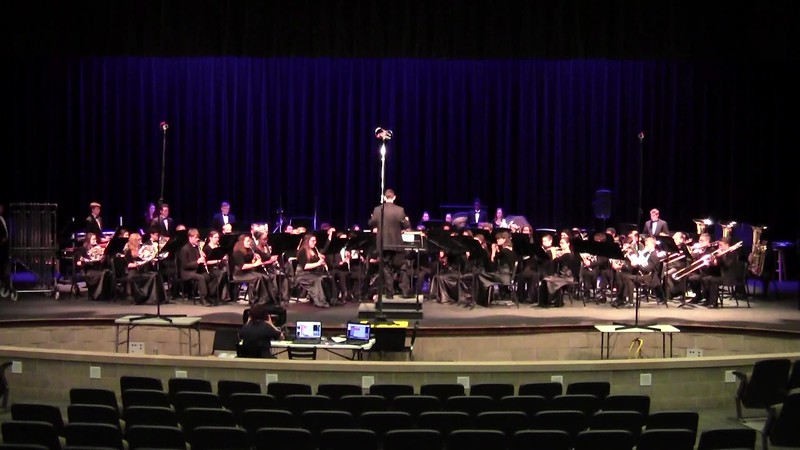 "College Station HS Concert Band UIL - ""Victoria Peak"""