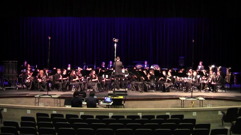 "College Station HS Concert Band UIL - ""Kindred Spirits"""