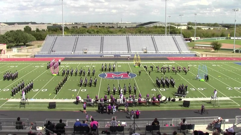 2017 UIL Region 8 Marching Contest - College Station HS Band