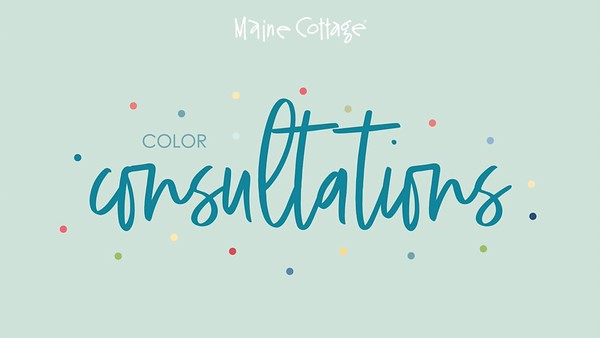 Maine Cottage - Color Consultations