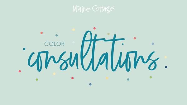 Maine Cottage - Color Consultations