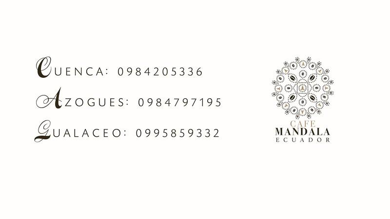 cafe mandala ecuador cuenca azogues gualaceo promo