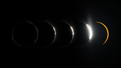Total solar eclipse, Madras, Oregon (8/21/2017)