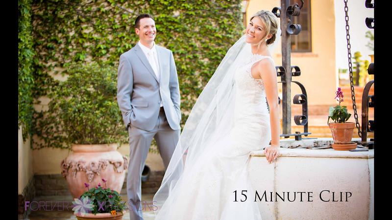 Tara and Erik Wedding at Bella Collina 15 Minute Clip with Intro.