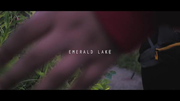 Hiking At Emerald Lake