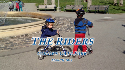 Riders in the park