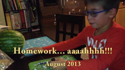 Homework....