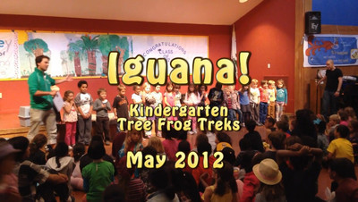 Graduation with Tree Trek Frogs