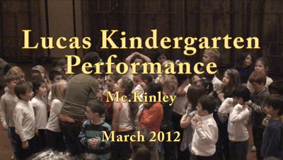 Kindergarten Performance