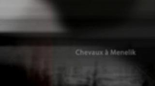 Chevaux à Menelik - Horses at Ea. Menelik