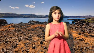 Lila visits Iceland
