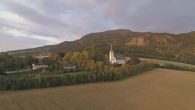DJI_0006x Skatval kirke right UH60fps