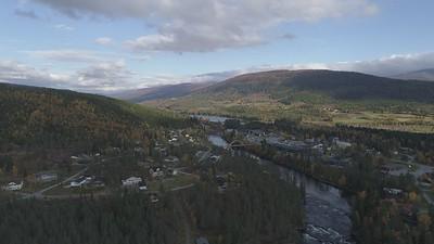 Namsskogan aerial