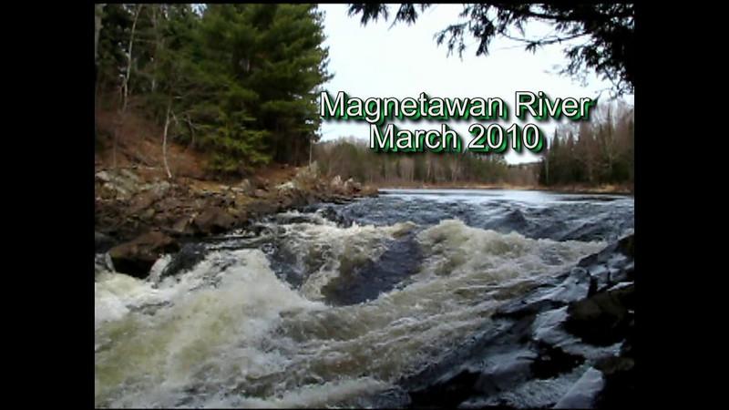 Magnetawan River by Jean Lefebvre