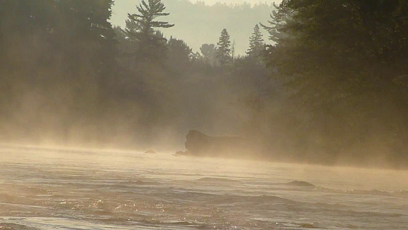 Madawaska River by Jean Lefebvre
