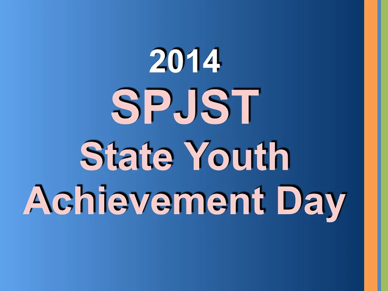 2014 SPJST State YAD Winners Video