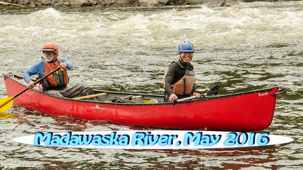 Whitewater Canoeing on the Lower Madawaska River, May 2016