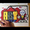 How to write a rap and illustrate in a graffiti style
