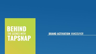 Behind the Scenes:  Vancouver Brand Activation