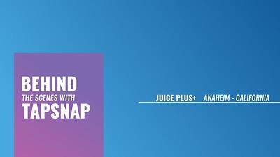 Behind the Scenes:  Juice Plus+ @ Anaheim Convention Center